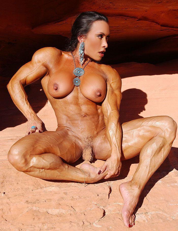 Порно фото женщин качков